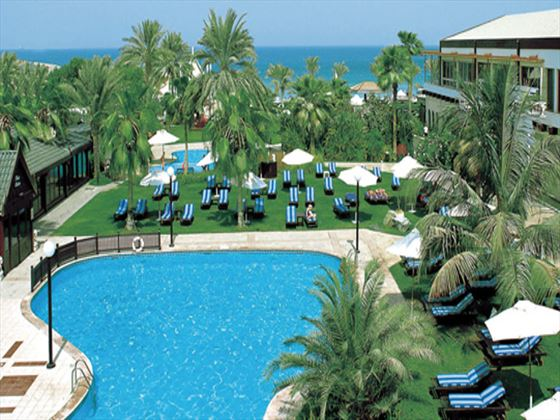 Outdoor pool at Dubai Marine Beach Resort and Spa