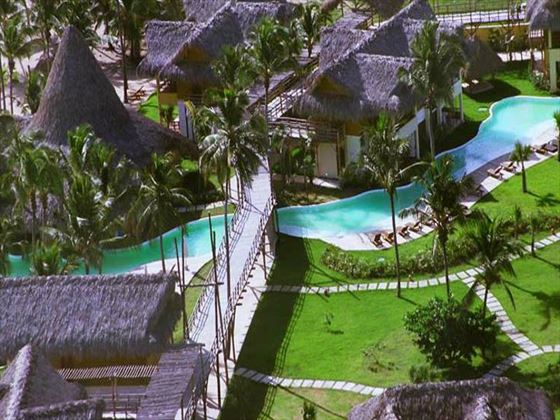 Overhead view of Zoetry Agua Resort & Spa