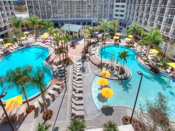 Palms pool club at Sheraton Lake Buena Vista