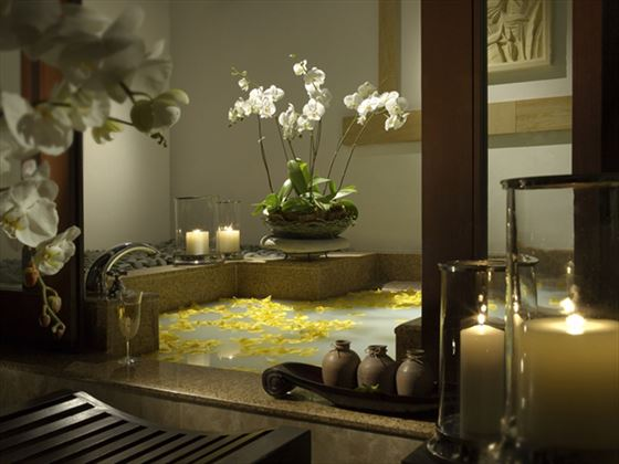 Pangkor Laut Resort Hill Villa bathroom
