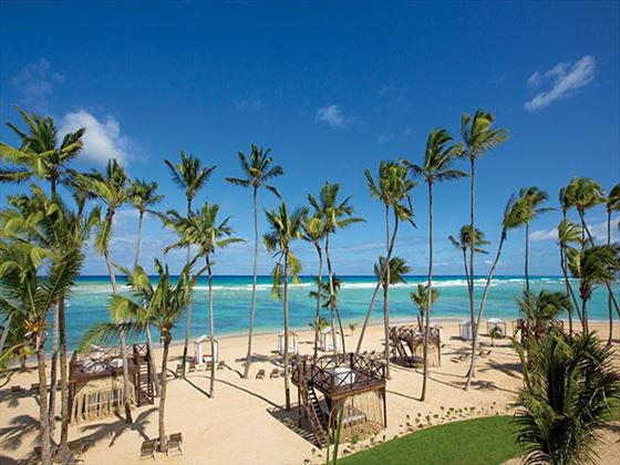 Panoramic beach views at Breathless Punta Cana