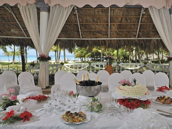 Wedding dinner at Paradisus Varadero