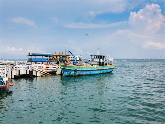 Pattaya harbour