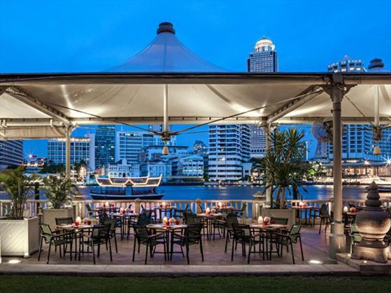 River Cafe and Terrace, The Peninsula, Bangkok