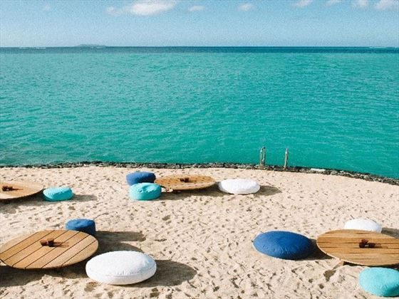 Beach setting for your beautiful wedding ceremony