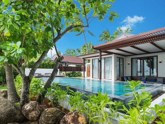 Two Bedroom Presidential Beachfront Pool Villa