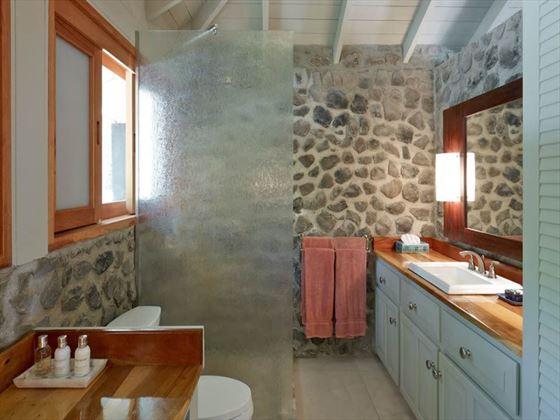Petit St Vincent Two-bedroom Cottage bathroom