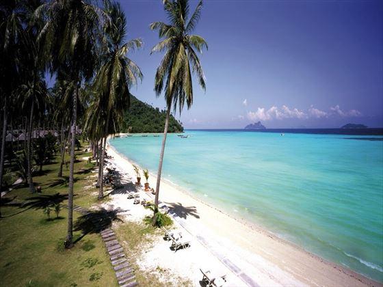The beach at Phi Phi Island Village Beach Resort