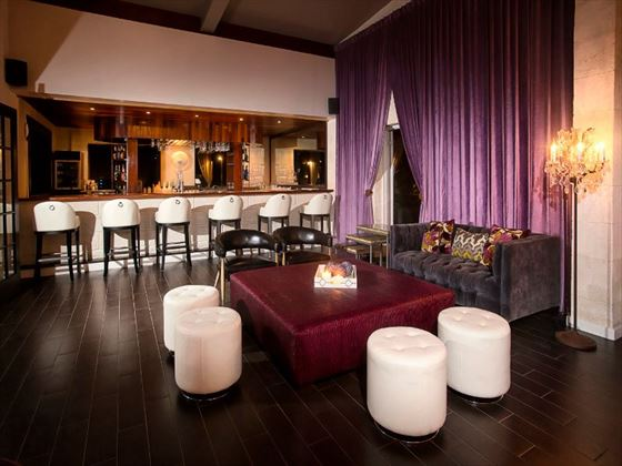 Piano lounge at Sea Breeze Beach Hotel