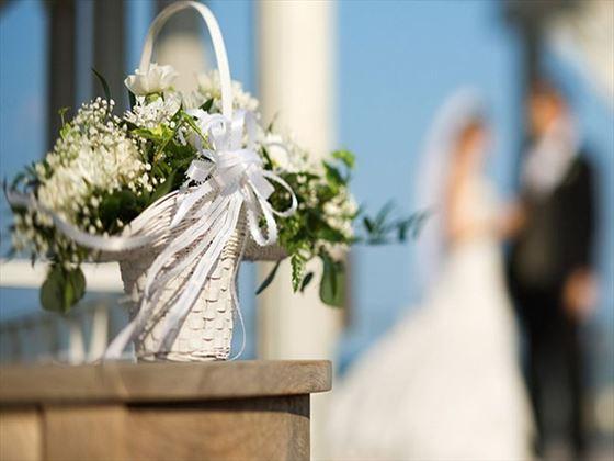 Charming wedding bouquet