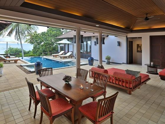 Pimalai Resort & Spa, Beach Side Private Pool Villa Two Bedroom