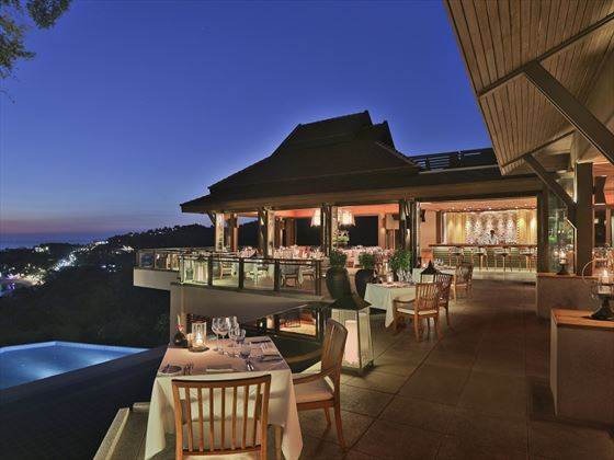 Pimalai Resort & Spa, Seven Seas restaurant