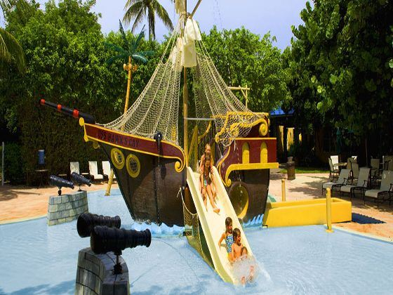 Pirate Ship Pool at Hawks Cay resort