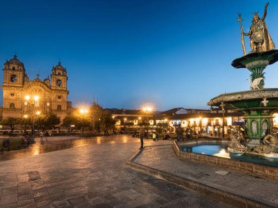 Plaza de Armas de Madrugada, Cusco