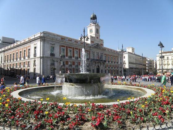 Plaza Puerta del Sol Madrid