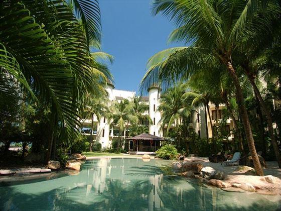 Pool area at Tanjung Rhu Resort