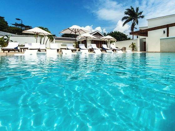 The pool at Calabash, Grenada