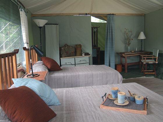 Porini Lion Camp Guest Tent