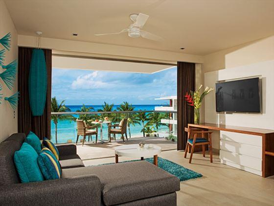 Preferred Club Junior Suite Living Area
