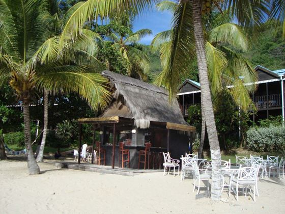Priates Cove and Beach Bar at Tamarind Beach Hotel & Yacht Club