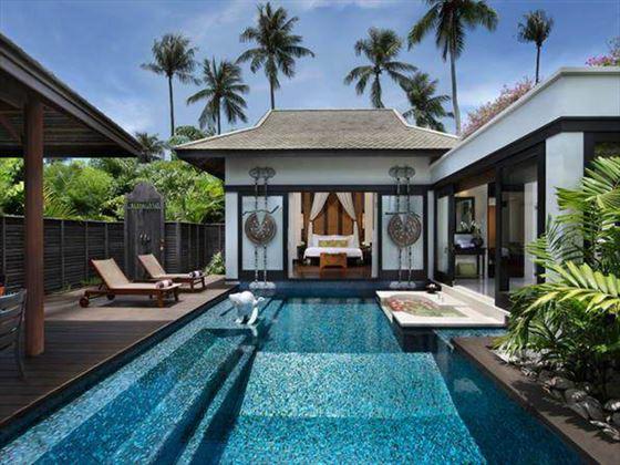 Private pool at Anantara Phuket Villas