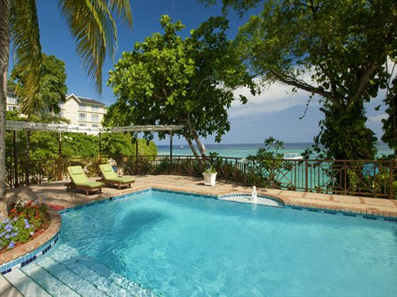 Private villa pool at Sandals Royal Plantation Ocho Rios