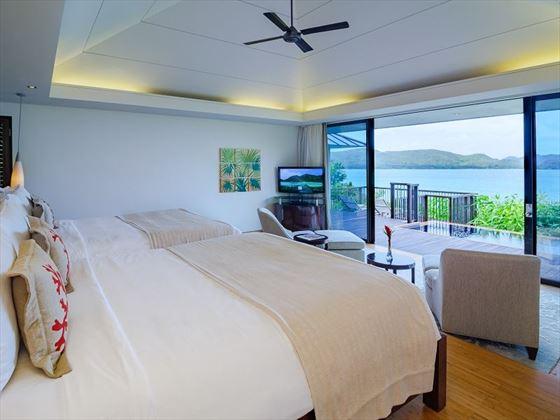 Ocean View twin bedroom