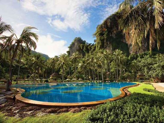 Rayavadee Krabi outdoor swimming pool