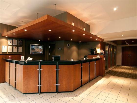 Reception at Copthorne Hotel Auckland