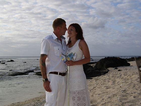 Beautiful wedding at Recif Attitude