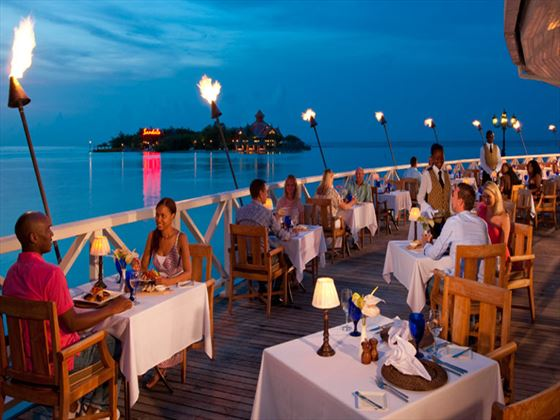 Regency restaurant at Sandals Royal Caribbean Resort & Private Island