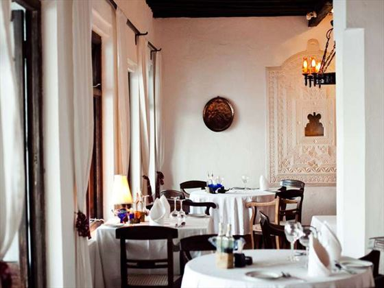 Restaurant at Peponi Hotel
