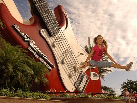 Rock n Roller Coaster Starring Aerosmith at Disney's Hollywood Studios