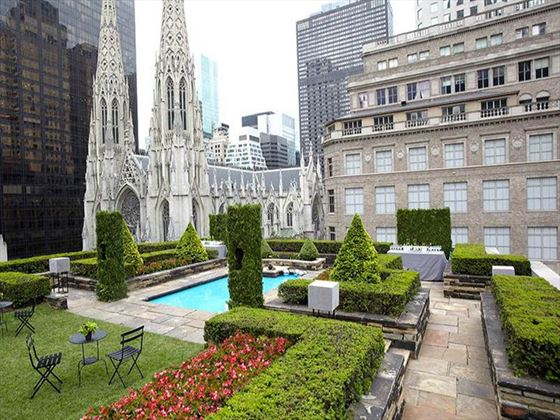 Rockefeller Centre with views of St. Patrick's Cathedral