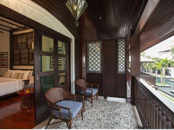 Romantic Lanna Room Balcony, Na Nirand