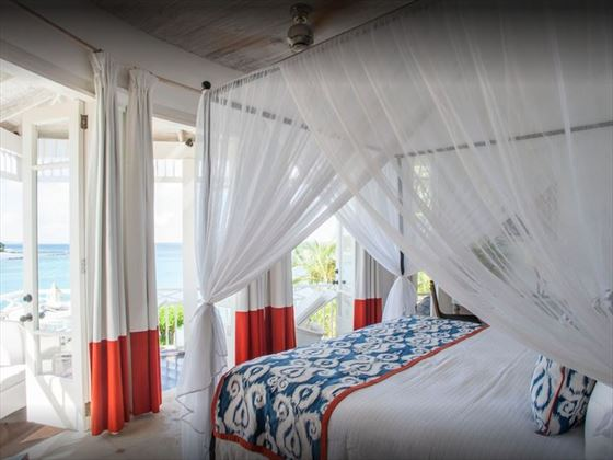 Room with a view, Cotton House, Mustique