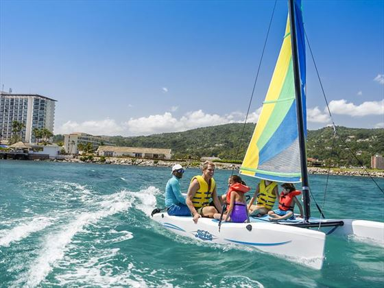 Sailing in the Waters by Moon Palace Jamaica