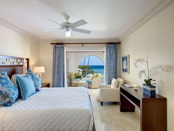 Deluxe Beachfront room at Saint Peters Bay