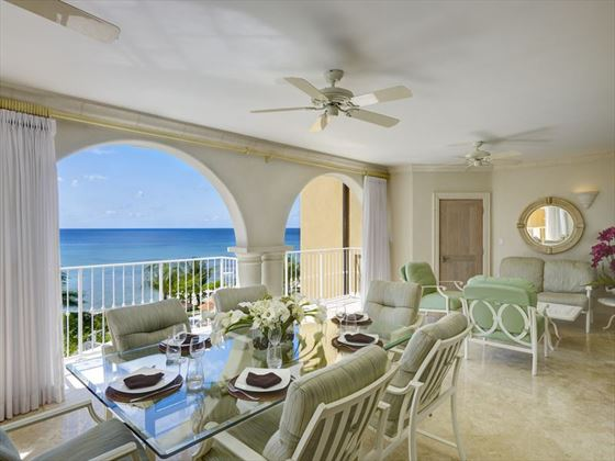 Luxury Beachfront room at Saint Peters Bay