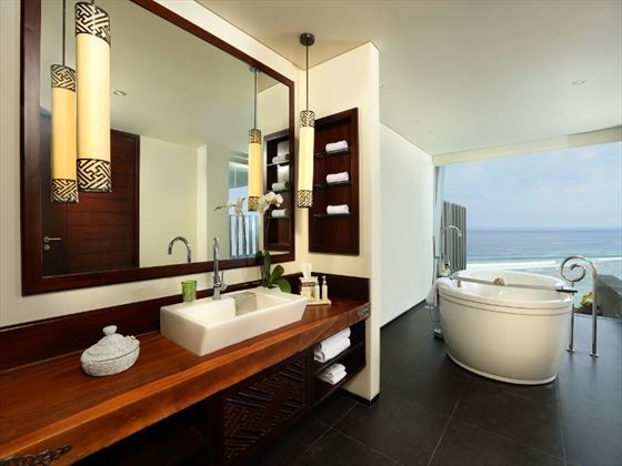 Samabe One-Bedroom Ocean Suite bathroom