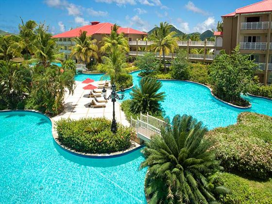 Sandals Grande St Lucian Spa & Beach Resort pool