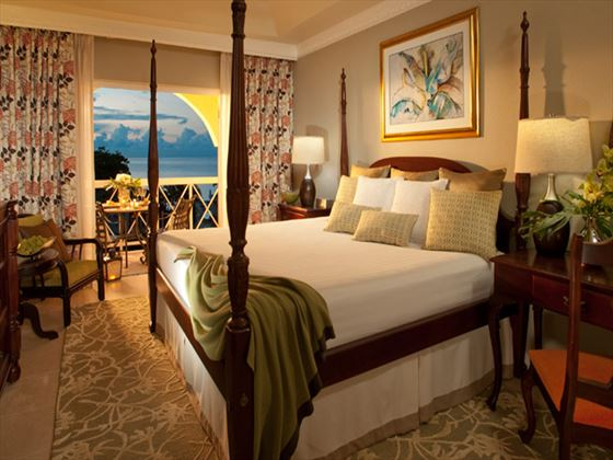 Sandals Montego Bay Luxury Ocean View Room