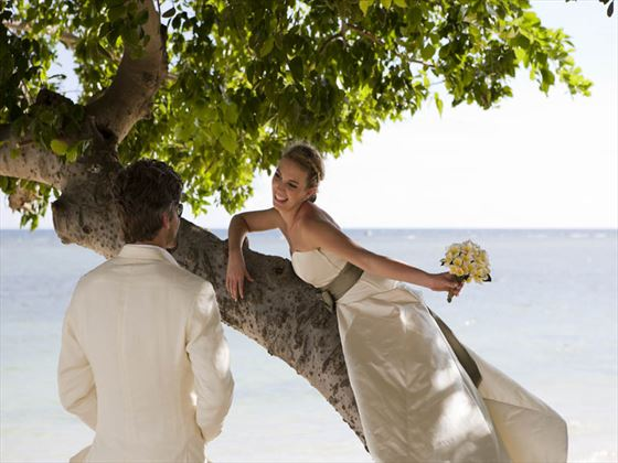 Beautiful beach weddings at Sands Resort & Spa
