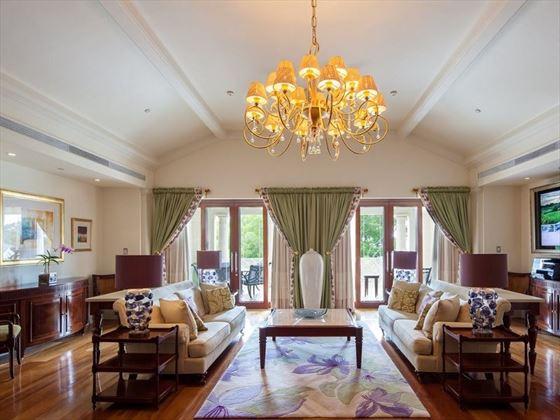 Sandy Lane private living room