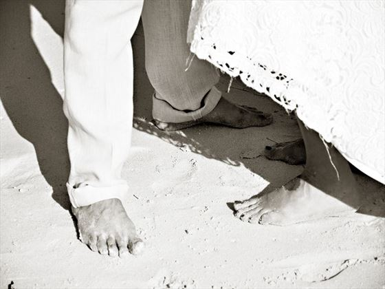 Weddings with sand between your toes