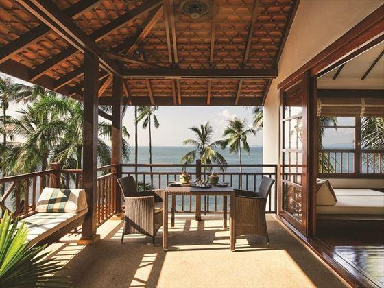 Private Sea-View Terrace, Villas at Belmond Napasai