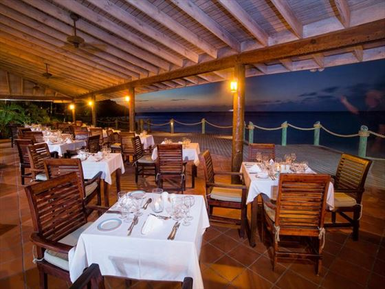 Seagrape restaurant at Galley Bay Resort & Spa