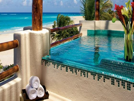 Secrets Maroma Beach Riviera Cancun outdoor private pool