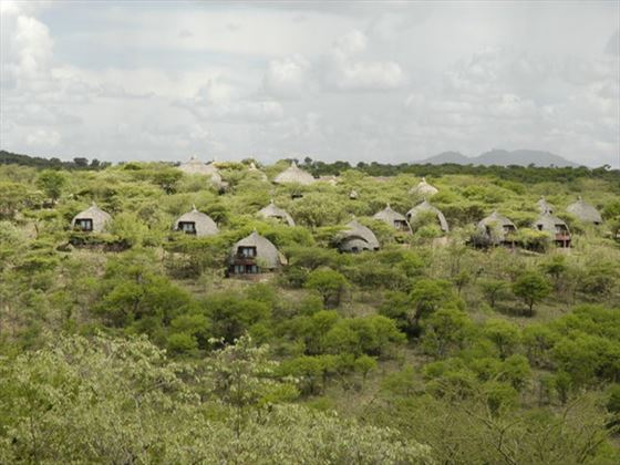 Exterior view of Serengeti Serena Lodge