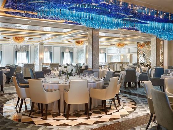 Seven Seas Explorer, Compass Rose restaurant
